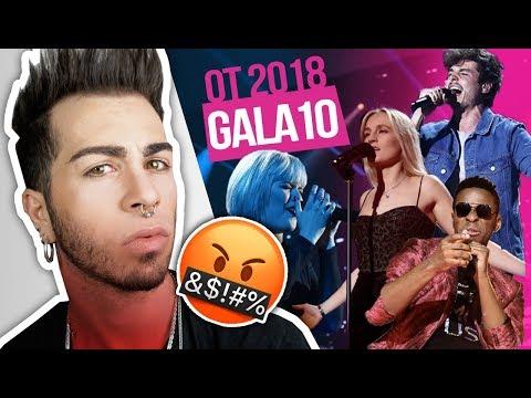 OT 2018 Gala 10 *REACCIÓN* | MALBERT