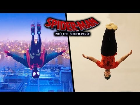Spider-Man: Into the Spider-Verse Stunts In Real Life (Part 2)
