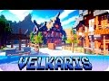 Minecraft - Castle of Velkaris and Medieval Town - Cinematic & Map Download