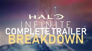 Halo INFINITE  - Complete Trailer Breakdown - Hidden messages, hints, and more!