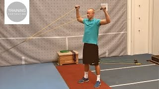 Thera-Band / Tube / Elastic Band Part I: Upper Body Warm Up and Resistance Exercises