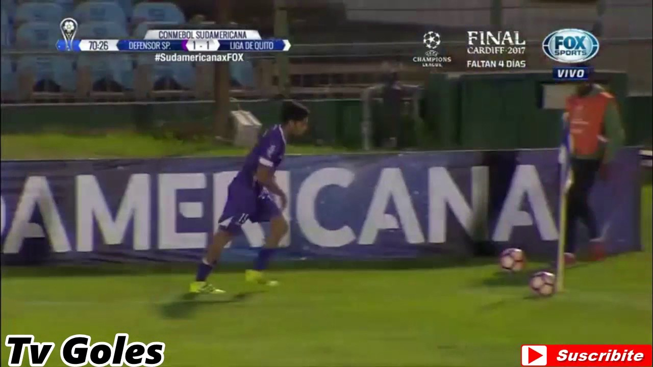 Defensor Sporting Montevideo 1-2 Liga Dep. Universitaria Quito