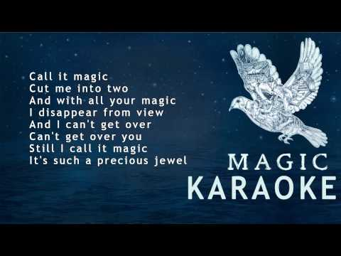 Coldplay - Magic ( KARAOKE - LYRICS - INSTRUMENTAL )