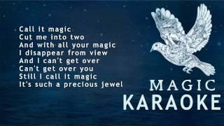 Repeat youtube video Coldplay - Magic ( KARAOKE - LYRICS - INSTRUMENTAL )