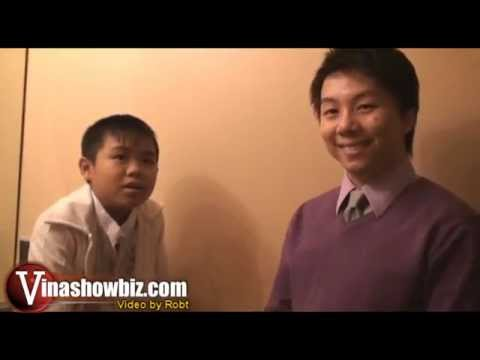 Nguyen Huy Backstage Interview - 9/1/2008