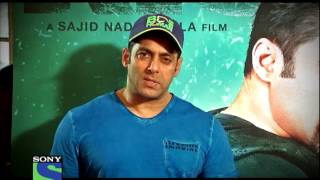 Salman Khan in CID for KICK - Fri to Sun @ 10pm