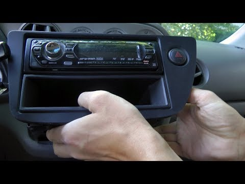 Acura RSX (2002-2006): Stereo Head Unit Removal And Installation.