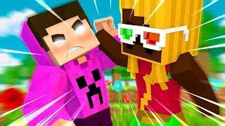 A MALENA USA HACK, só pode! - Minecraft Reverso ♥