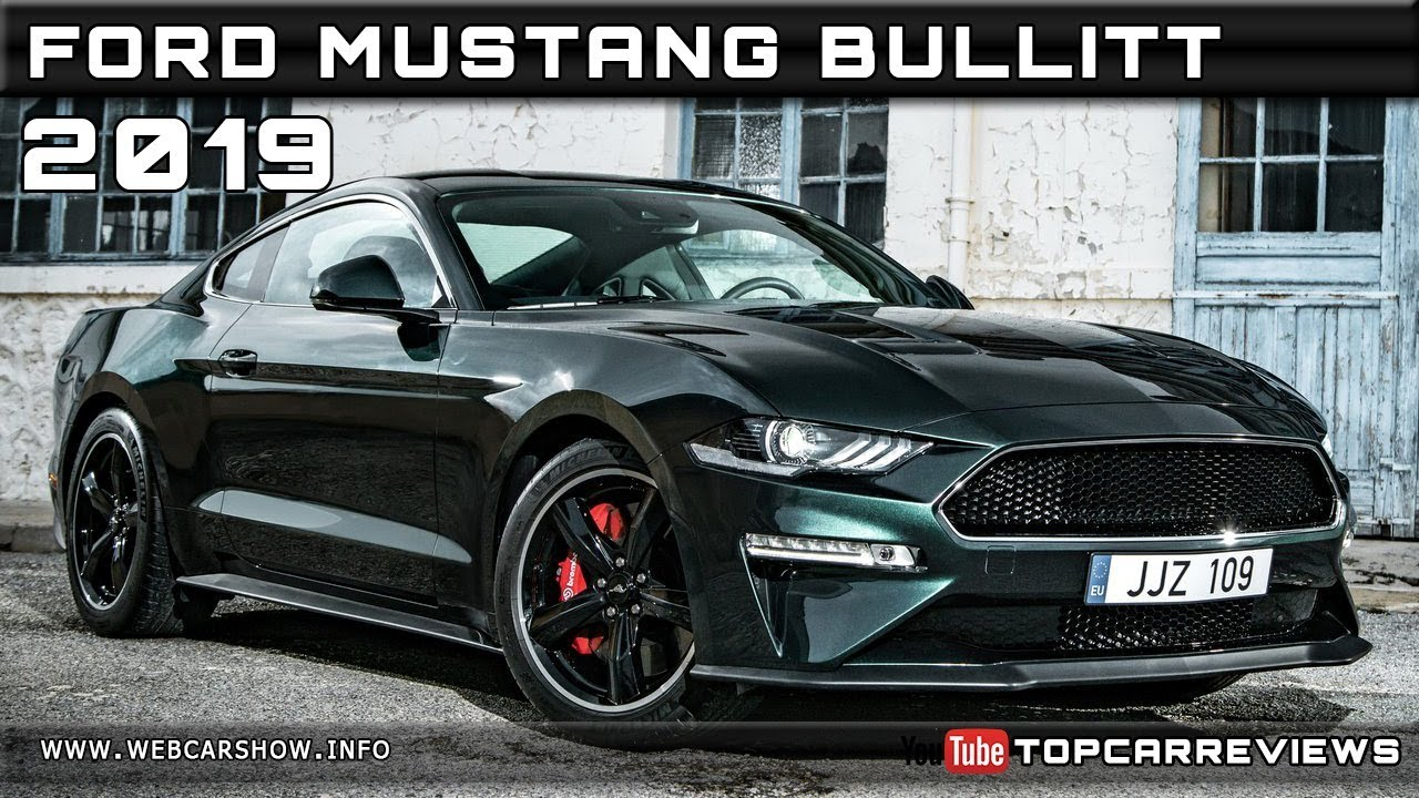 2019 ford mustang bullitt review rendered price specs release date