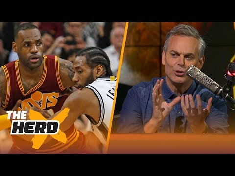 Colin Cowherd on Lakers' new moves to get LeBron, Kawhi and Paul George  NBA  THE HERD