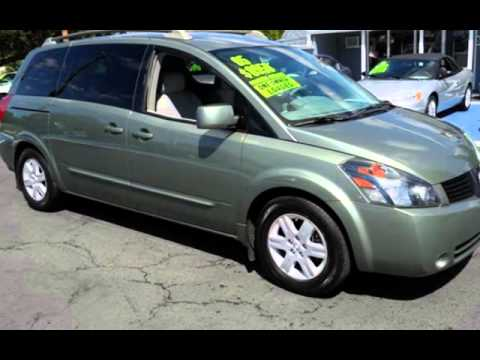 2005 nissan quest 3 5 s for sale in vancouver wa youtube. Black Bedroom Furniture Sets. Home Design Ideas