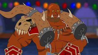 HearthStone Cartoon  Garrosh VS Morgl  Animation #3