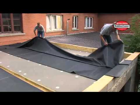 firestone rubbercover epdm rubbercover installation d youtube. Black Bedroom Furniture Sets. Home Design Ideas