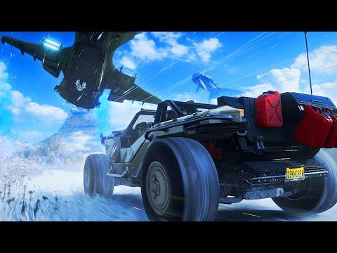 RACEN TEGEN EEN RUIMTESCHIP! - Forza Horizon 4 thumbnail