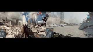 Battlefield 4 - Console vs PC (Graphics Comparison - ULTRA 1080p)
