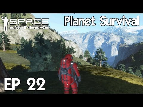 Space Engineers Planets - Ep 22 New Drill Ship Skeleton
