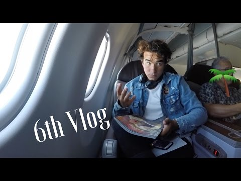Hawaiian Airlines 1st Class Experience: Justin Burbage 6th VLOG