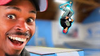 CAN A SKATEBOARDER BACKFLIP A SCOOTER?!