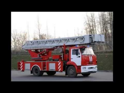 Автолестница пожарная АЛ-30 (43253) модель 04ПС