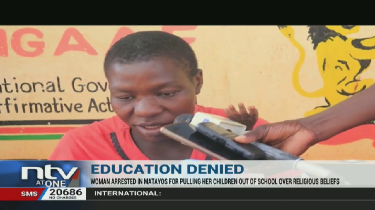 Download Busia woman withdraws her children from school saying it is a sin