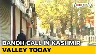 Shutdown In Kashmir Today Over Death Of 7 Civilians At Encounter Site