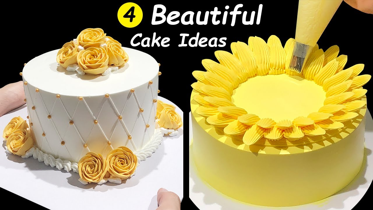 How To Make Cake Decorating Tutorials For Beginners Homemade Cake Decorating Ideas Cake Design Youtube
