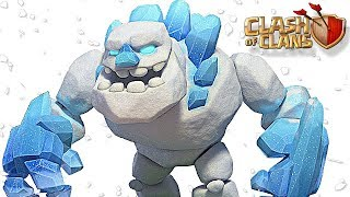 NEW TROOP | Ice Golem vs ALL Defenses | Clash of Clans Winter Update