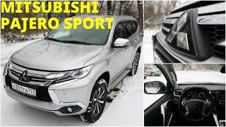 Mitsubishi Pajero Sport - поговорим и поедем (4k, 3840x2160)