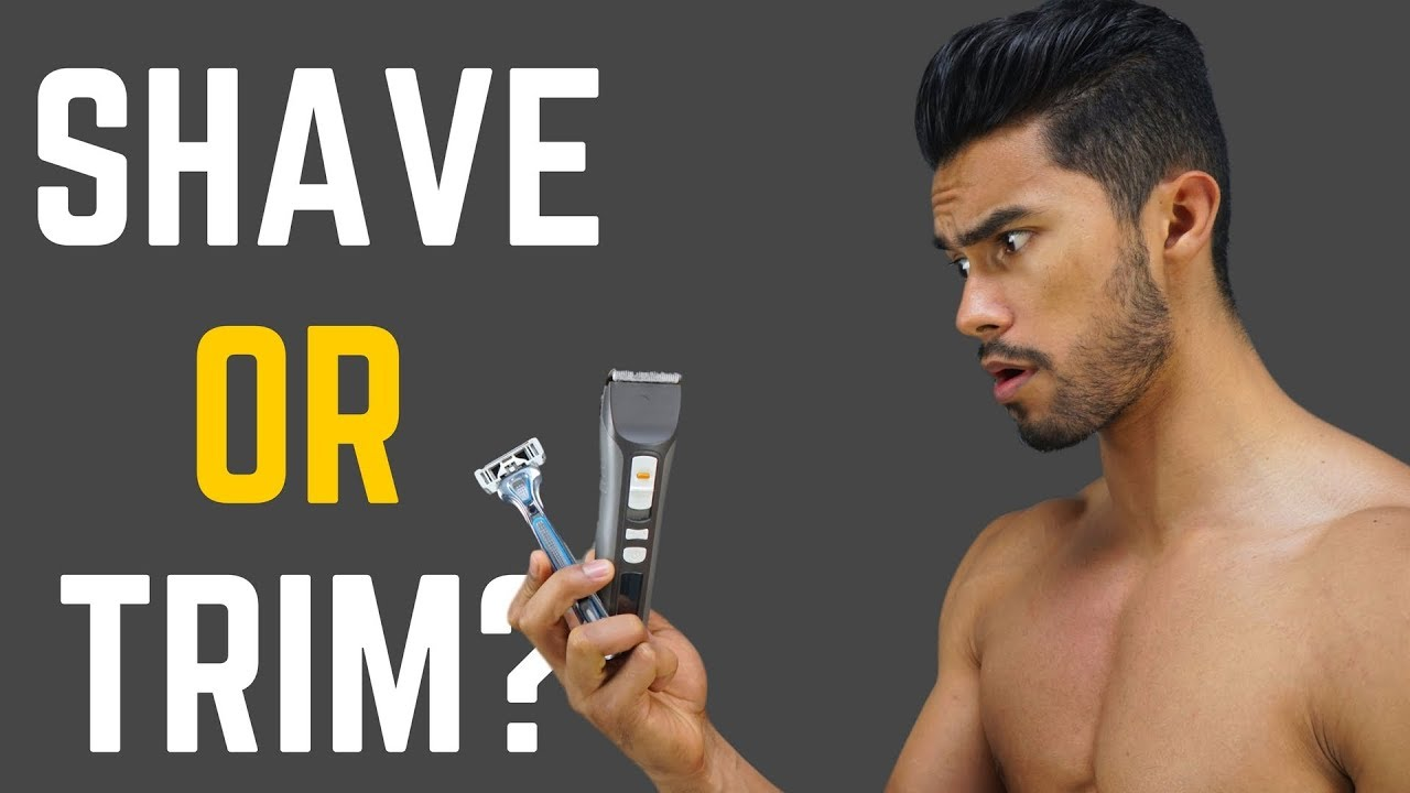 How should a guy shave his pubes