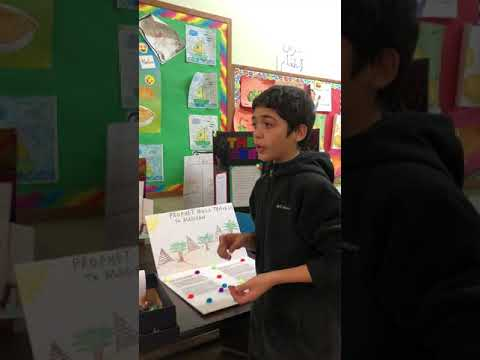 Al Aqsa Islamic Academy 6th Grade Project on Prophet Musa's Birth and Life - Part 2