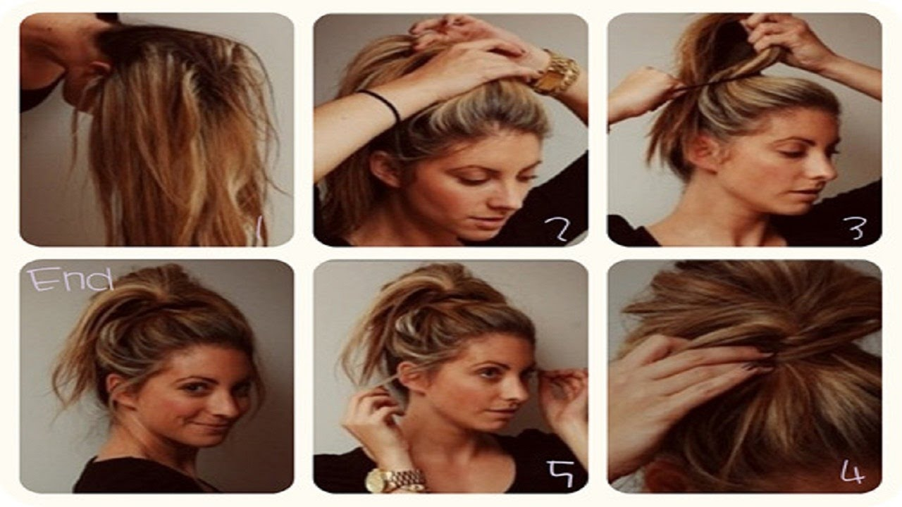 Everyday perfect bun updo all type hairstyle for medium long hair everyday perfect bun updo all type hairstyle for medium long hair tutorial youtube baditri Gallery