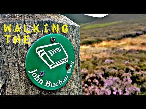 John Buchan Way: Broughton to Peebles