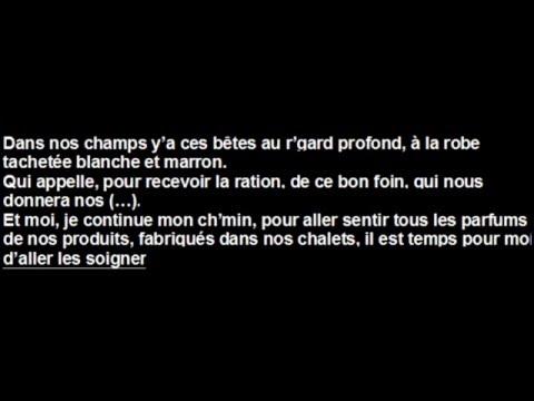 Lilian Renaud - Hymne à la franche comté / Mon Paradis : Paroles (Lyrics Video)