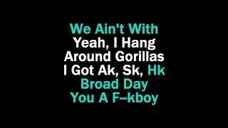 Ghostface Killers Karaoke 21 Savage ft Offset Metro Boomin & Travis Scott