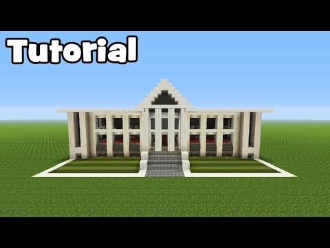 Minecraft Tutorial: How To Make A Town Hall