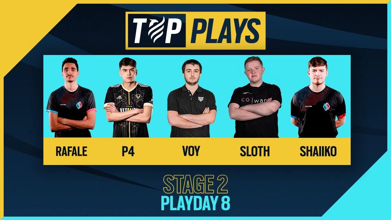 TOP PLAYS: Rainbow Six European League 2021- Stage 2 Playday 8