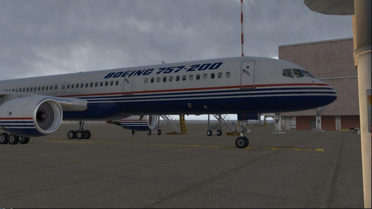 X-Plane 11|YMLT to YBBN|B757|The new FF757