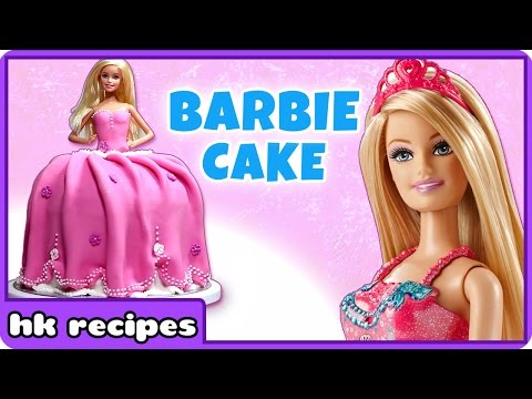 Barbie Doll Cake | Amazing Cake Decorating Ideas | Learn How To Cook And Bake With HooplaKidz