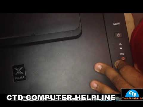 HOW TO FIX CANON G 2000 G3000 BLINKING 7 TIMES !!! INK ABSORBER FULL ERROR  !!! ERROR 5B00 !!!