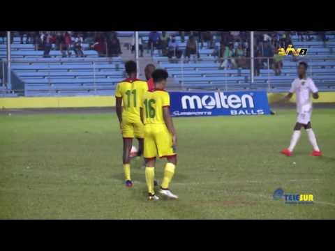 Guyana vs Suriname (CFU 2016) 13/10/2016 | Cash London Highlights | HD