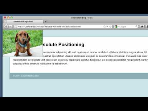 CSS Absolute and Relative Positioning Tutorial