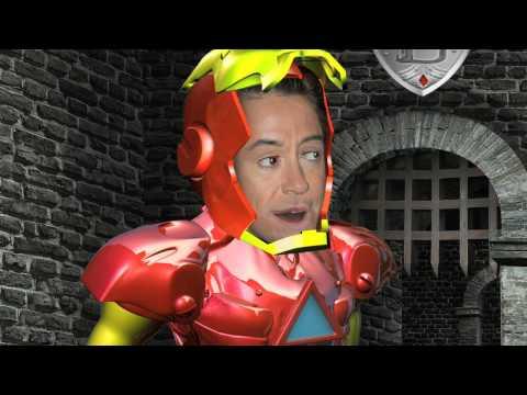 Eu Te Amo Homem de Ferro - Paródia MAD