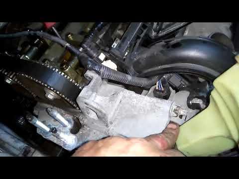 """ГТ"" Ford Fiesta (Fusion) Duratес 1,4 (1,25-1,6л) Замена ремня ГРМ, помпы,.."