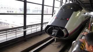 盛岡站新幹線列車分離