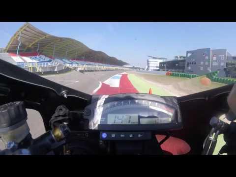 Honda VTR 1000 SP1 Onboard Assen Racecracks