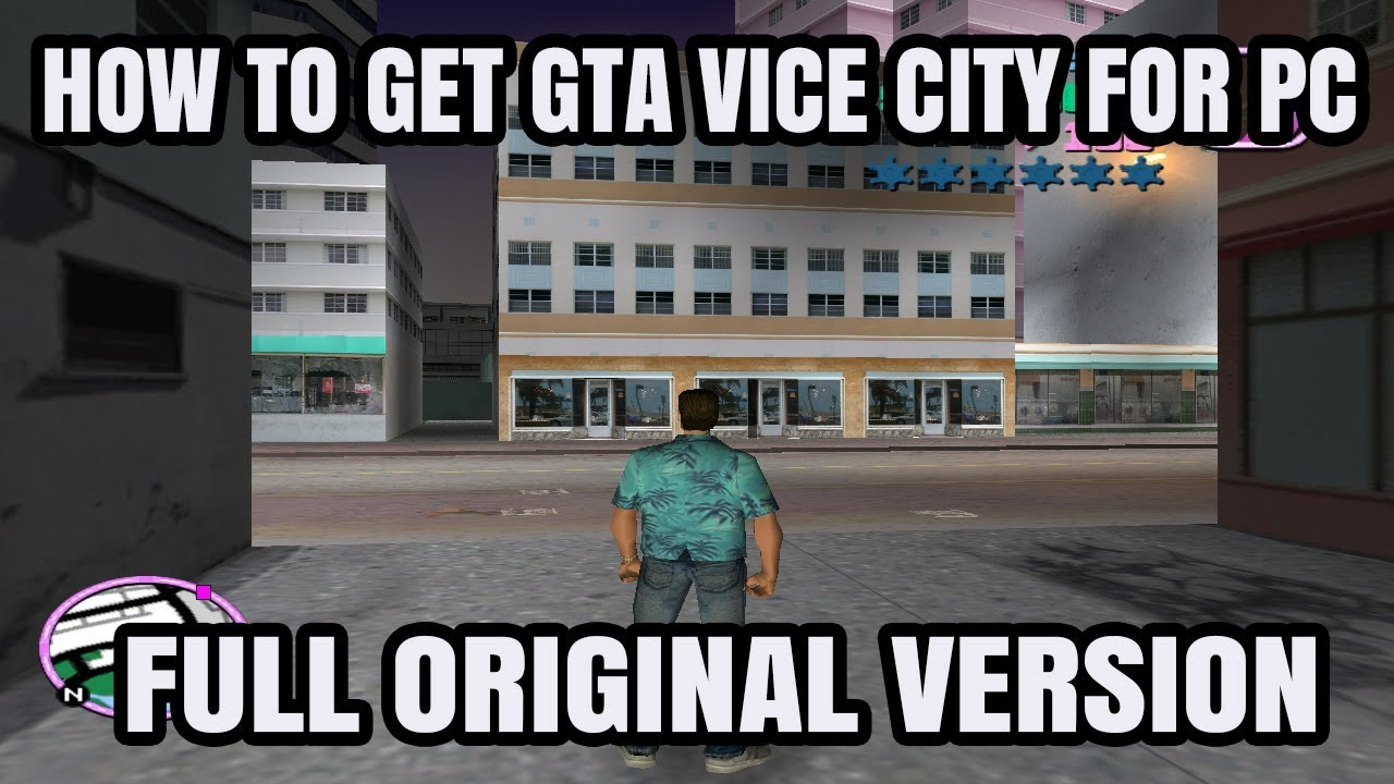 gta vice city free download for pc full version game rar