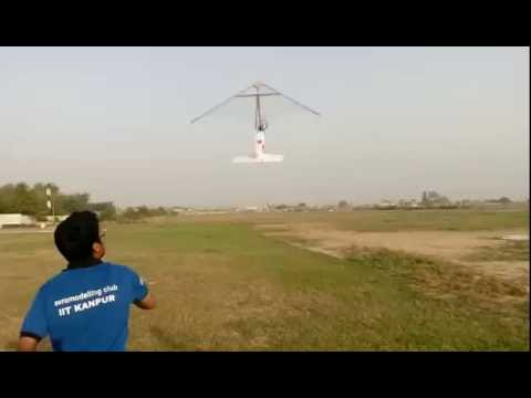 Rogallo Wing - Aeromodelling Club Summer Project IIT Kanpur 2016