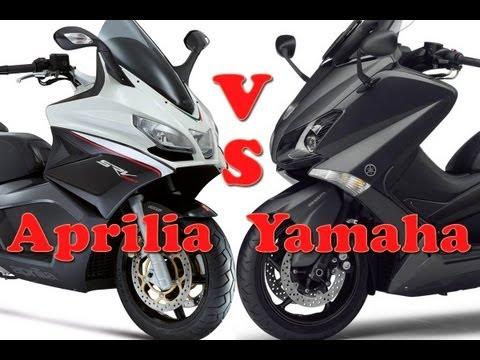 Aprilia SRV 850 vs Yamaha T-Max 530 Vergleichstest