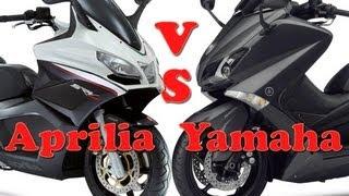 aprilia srv 850 vs yamaha t max 530 vergleichstest
