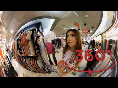 Shenzhen 360º: Dongmen Clothing Market